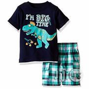 Kids Headquarters Boy's I'm Big Time 2 Piece Set | Children's Clothing for sale in Lagos State