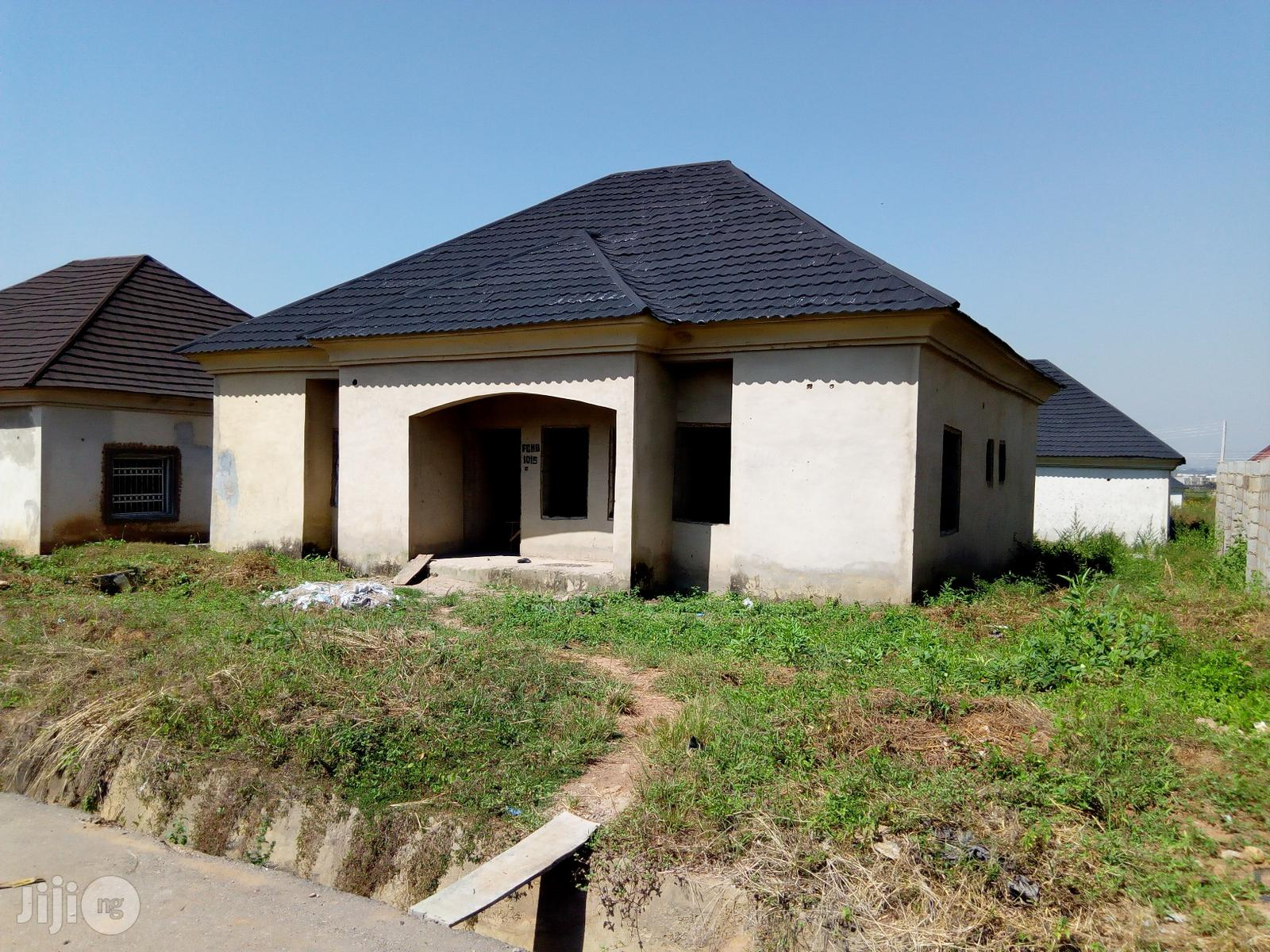 Mortgage 3 Bedroom Carcass Bungalow for Sale in Karsana | Houses & Apartments For Sale for sale in Gwarinpa, Abuja (FCT) State, Nigeria
