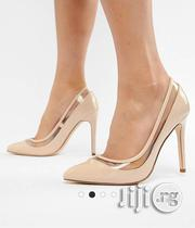 Asos Nude Pointed Heels Size 9 UK | Shoes for sale in Cross River State, Calabar