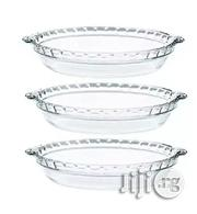 Pyrex Glass Pie Plates - 3 Pack - 9.5 Inchex X 1.5 Inches   Kitchen & Dining for sale in Lagos State