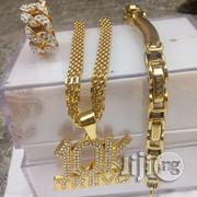 10k Men Chain With Bangle and Ring | Jewelry for sale in Lagos State, Surulere