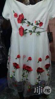 Flower Short Gown | Clothing for sale in Lagos State, Alimosho