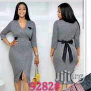 Fitted v Neck Gown | Clothing for sale in Lagos State, Ikoyi