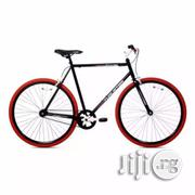 Kent Thruster 700C Men's Fixie Bike - Black Red | Sports Equipment for sale in Lagos State