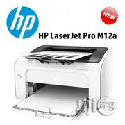 HP Fastest Laserjet M12a Black White Printer | Printers & Scanners for sale in Lagos State, Ikeja