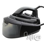 Tesco Steam Generator Iron 2400w Black With 1200ml Water Tank | Manufacturing Equipment for sale in Abuja (FCT) State, Central Business Dis
