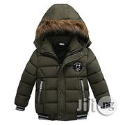 Fashion Baby Boy Jackets Winter Warm Thick Hooded Zipper Coat Outwear Clothes | Children's Clothing for sale in Lagos State, Surulere