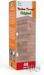 USA Cooltoys Timber Tower Wood Block Stacking Game | Books & Games for sale in Lagos State, Alimosho