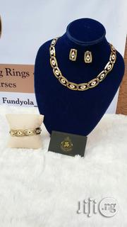 Full Neck Size Jewelry Set Choker Gold Set | Jewelry for sale in Lagos State, Ajah