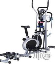American Fitness Orbitrac Bike With Massager And Dumbbells | Massagers for sale in Lagos State, Lekki Phase 1