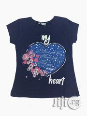Casual Blue Top for Girls | Children's Clothing for sale in Lagos State, Ikeja
