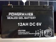 6V 12Ah Gel Battery | Electrical Equipment for sale in Lagos State, Ojo