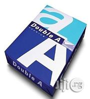 Double A4 PAPER- 1 Carton Of 5 Reams, 80gms Paper | Stationery for sale in Lagos State, Mushin