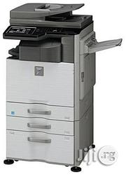 Sharp Multifunctional Monochrome Printer MX-M464N With HSM Shredder - White | Printers & Scanners for sale in Lagos State, Ikeja