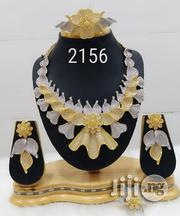 Plated Cubic Zirconia Necklace Earrings India | Jewelry for sale in Lagos State, Lagos Island