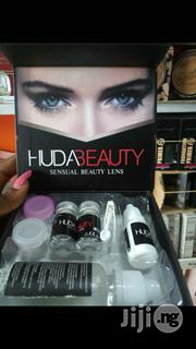 Hudabeauty Contact Lens Set With Solution | Skin Care for sale in Lagos State
