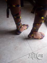 Ankara Gladiator | Shoes for sale in Lagos State