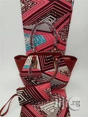 Exclusive Ankara Bags With 6yards Wax And Purse Imported Xxi | Bags for sale in Edo State, Benin City