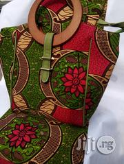 Well Designed Ankara Bags With 6yards Wax and Purse Ix | Bags for sale in Benue State, Gboko
