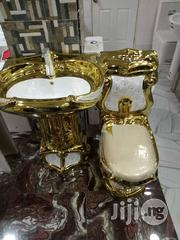 Gold Executive Water Closet Set | Plumbing & Water Supply for sale in Lagos State, Orile