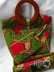 Ankara Bag With 6 Yards Wax and Purse Imported Here   Bags for sale in Imo State, Owerri