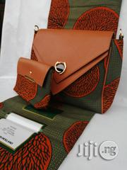 Fabric Bag With 6yrds Wax Purse on a Discount Price to Re-Seller/Bulk Buyers Iv | Bags for sale in Edo State, Benin City