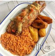 A Pack Of Freshly Made Jollof Rice, Turkey And Fried Plantain | Party, Catering & Event Services for sale in Lagos State, Ajah