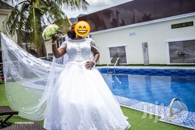 Wedding Dress For Rent Tiaras And Bouquets Available Also | Wedding Wear & Accessories for sale in Lagos State, Nigeria