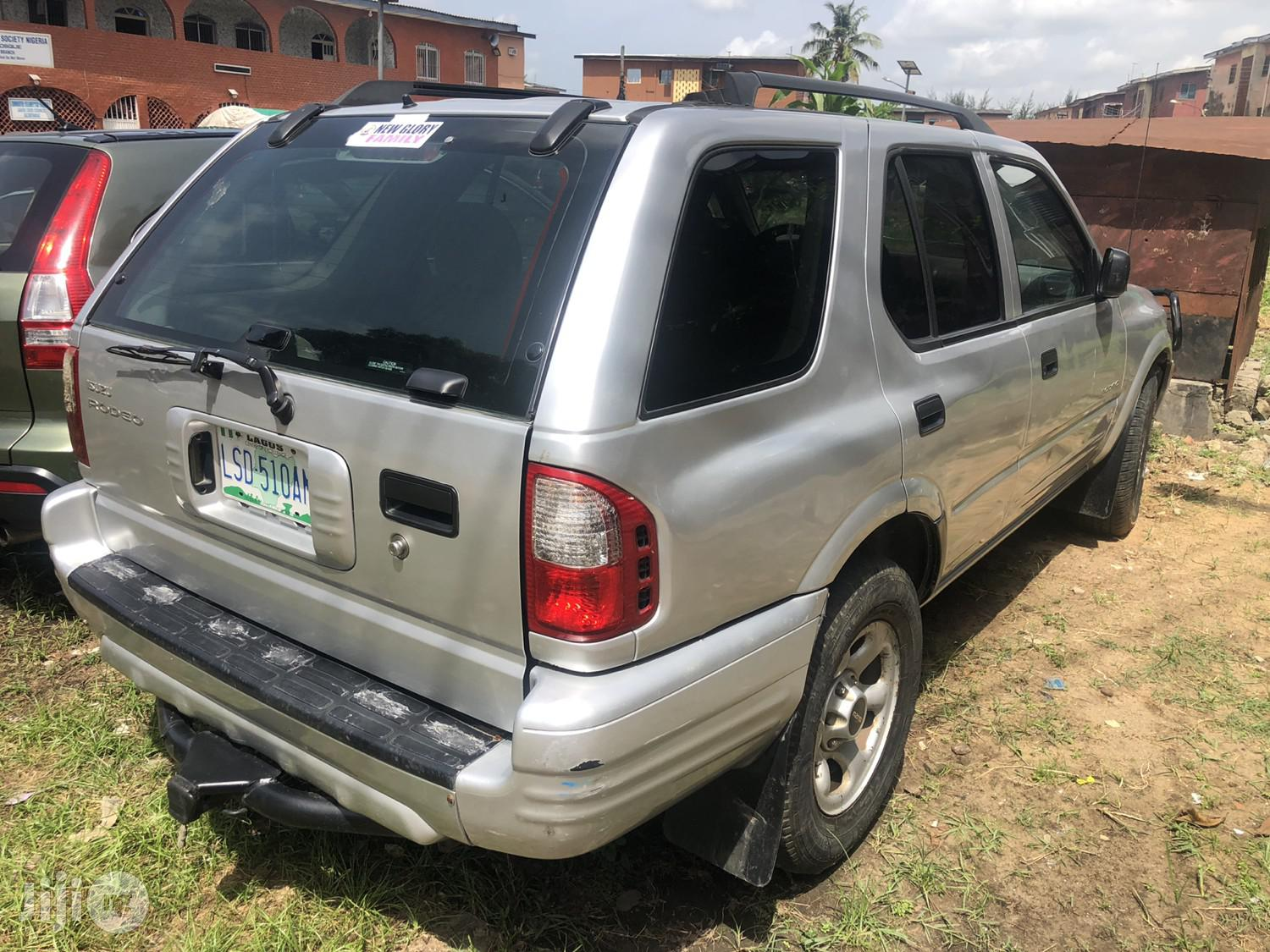 Isuzu Rodeo 2001 Silver | Cars for sale in Lagos State, Nigeria