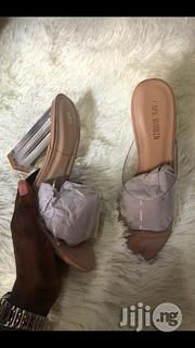 Cape Robbin Block Heel Slippers   Shoes for sale in Lagos State, Lagos Island