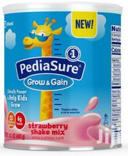 Pediasure Grow Gain Strawberry Shake Mix for Kids (400g)   Baby & Child Care for sale in Lagos State, Ikeja