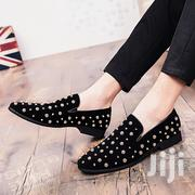 Men Gold Spiked Loafers Wedding Shoes | Wedding Wear for sale in Lagos State, Alimosho