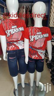 Marvel Spiderman 2 Face Print Polo | Children's Clothing for sale in Lagos State, Lagos Island