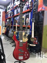 Fidelity Professional 4 String Bass Guitar With 24 Frets – Vintage Red | Musical Instruments & Gear for sale in Lagos State