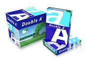 Double A A4 Paper - 1 Carton Of 5 Reams, 75gms Paper | Stationery for sale in Lagos State, Lagos Island