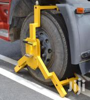 Anti-theft Heavy Duty Safety Vehicle Truck Tyre Wheel Clamp Lock | Safety Equipment for sale in Lagos State, Yaba