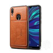 Huawei Y9 2019/ Y7/Y7 Prime 2019 Protective Case With Wallet (Brown) | Accessories for Mobile Phones & Tablets for sale in Lagos State, Ikeja