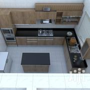 Classy Psi Hdf Kitchen With All Appliances | Furniture for sale in Lagos State, Lagos Island