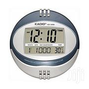 Kadio Digital Wall Clock - Round | Home Accessories for sale in Lagos State, Ikeja