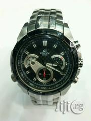 Edifice Casio Chronograph Sliver Stainless Watch | Watches for sale in Lagos State, Lagos Island