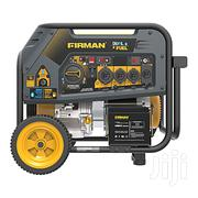 Firman Electric Start Gas or Propane Dual Fuel Portable Generator | Electrical Equipment for sale in Lagos State, Lekki Phase 1