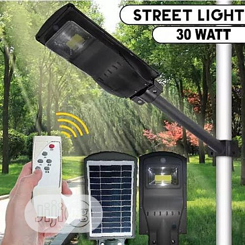 Generic All In One 30w Solar Street Light With Motion Sensor