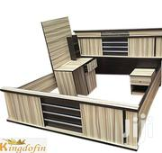 Generic 6 X 6 Bed Frame With 2 Drawer And 1 Standing Mirror | Home Accessories for sale in Lagos State, Ajah
