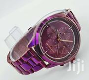 Micheal Kors Purple Dail Watch | Watches for sale in Lagos State, Ikeja