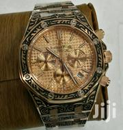 High Quality Gold Plated With Black Patterns Wrist Watch by AP | Watches for sale in Lagos State, Lagos Island