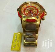 Big Bang Rosegold Red Chronograph Wrist Watch by Invicta | Watches for sale in Lagos State, Lagos Island