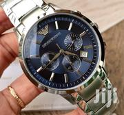Silver Chronograph Designer's Watch by Emporio Armani | Watches for sale in Lagos State, Lagos Island