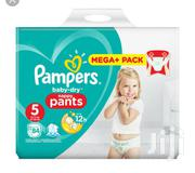 Pampers Baby Dry Nappy Pants U.K. Size 5 (64ct ) | Baby & Child Care for sale in Lagos State, Ikeja