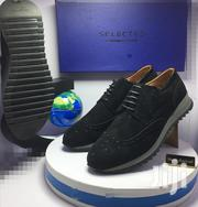 Black Suede Selected Designer Oxford Shoes   Shoes for sale in Lagos State, Lagos Island