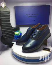 Blue Leather Designer Oxford Shoes   Shoes for sale in Lagos State, Lagos Island